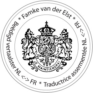 Stempel FvdElst